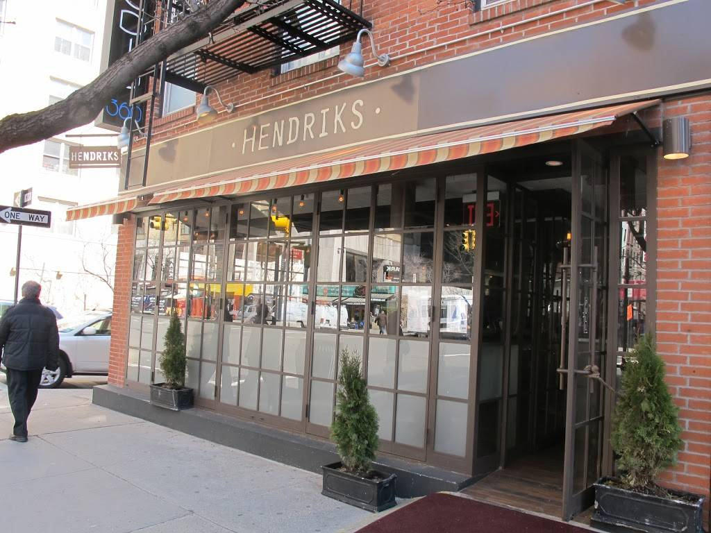 Hendriks | restaurant | 557 3rd Ave, New York, NY 10016, USA | 2126868080 OR +1 212-686-8080