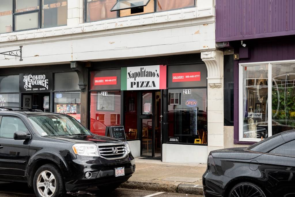 Napolitanos Pizza | restaurant | 211 Bank St, New London, CT 06320, USA | 8604403777 OR +1 860-440-3777