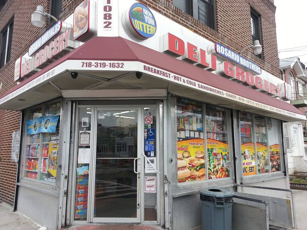 Rosario Brothers Deli Grocery | meal takeaway | 1082 Olmstead Ave, Bronx, NY 10472, USA | 7183191632 OR +1 718-319-1632