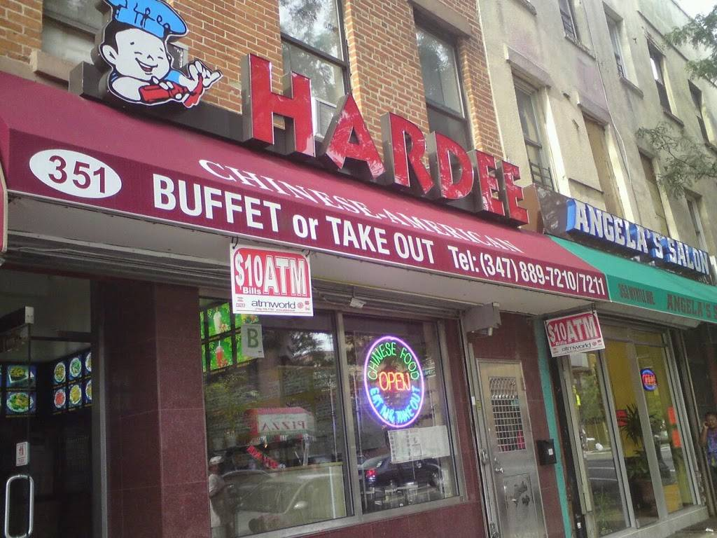 Hardee | restaurant | 351 Myrtle Ave, Brooklyn, NY 11205, USA | 3478897210 OR +1 347-889-7210
