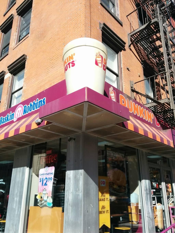 Dunkin Donuts | cafe | 361 1st Avenue, New York, NY 10010, USA | 2122288895 OR +1 212-228-8895