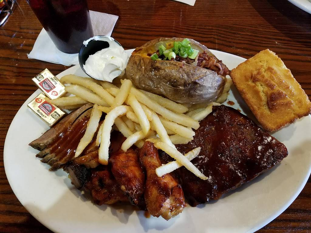 Sweet Baby Rays Barbecue   restaurant   800 E Higgins Rd, Elk Grove Village, IL 60007, USA   8474379555 OR +1 847-437-9555