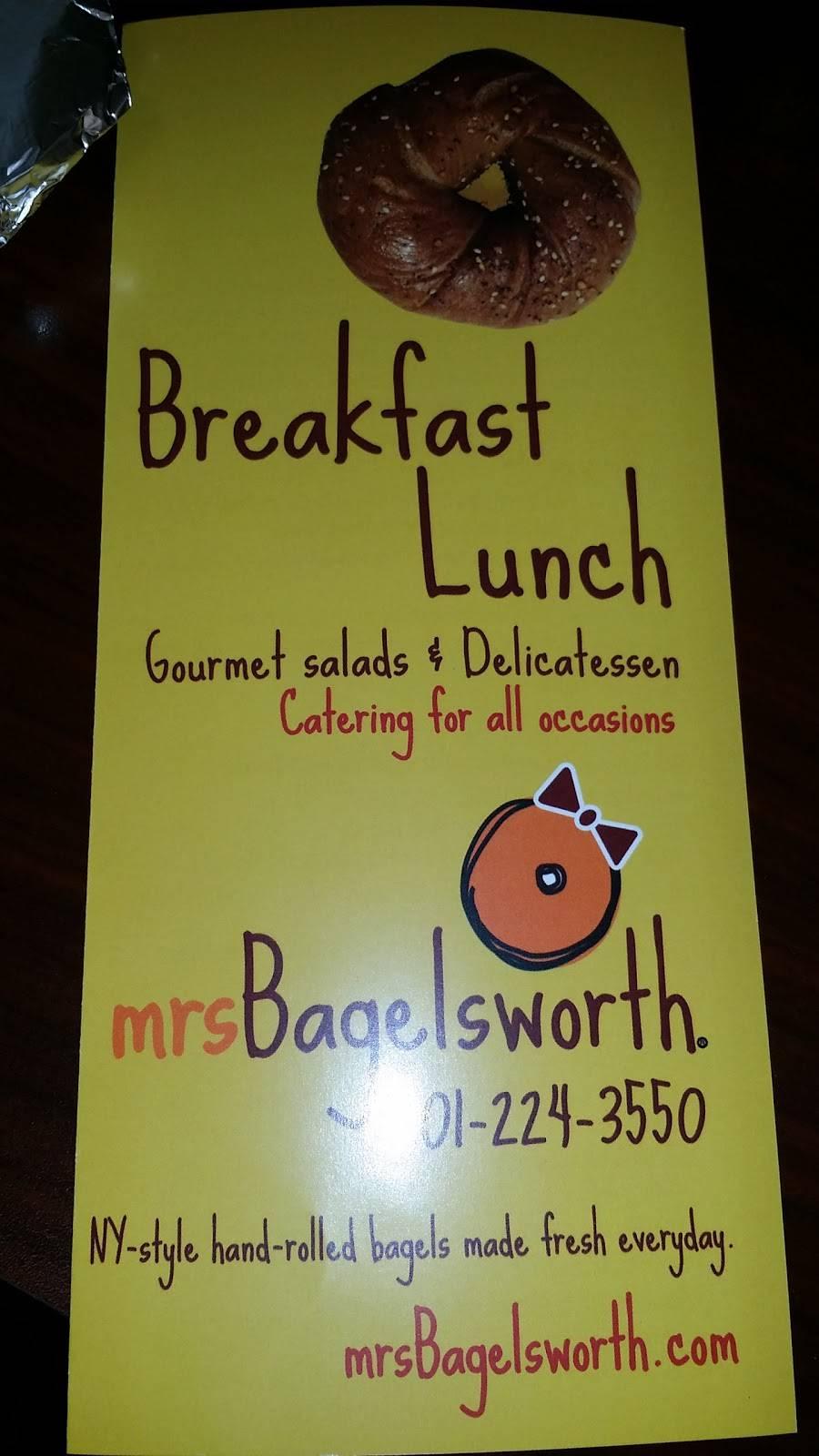 Mrs. Bagelsworth   bakery   1209 Anderson Ave, Fort Lee, NJ 07024, USA   2012243550 OR +1 201-224-3550