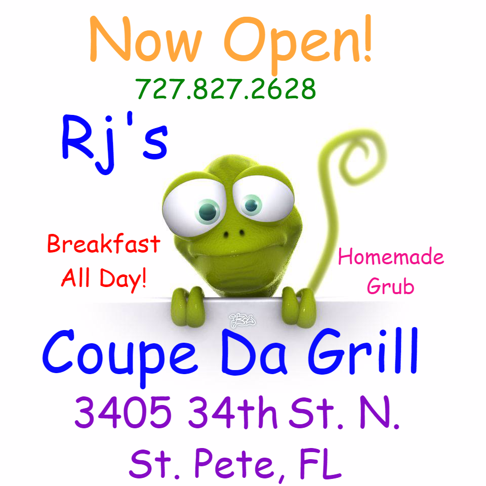 Rjs Coupe Da Grill   restaurant   3405 34th St N, St. Petersburg, FL 33713, USA   7278272628 OR +1 727-827-2628