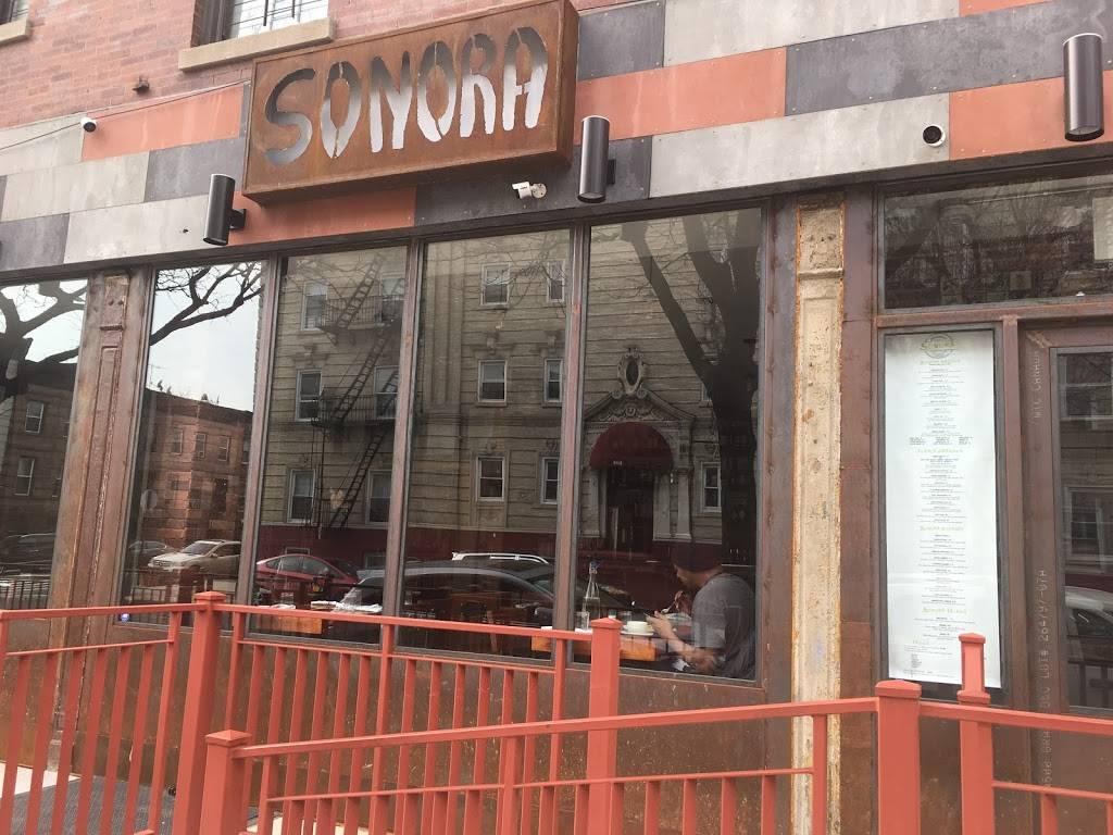 Sonora | restaurant | 174 Howard Ave, Brooklyn, NY 11233, USA | 7185748100 OR +1 718-574-8100