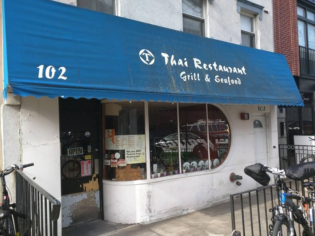 T Thai | restaurant | 102 Hudson St, Hoboken, NJ 07030, USA | 2013861522 OR +1 201-386-1522
