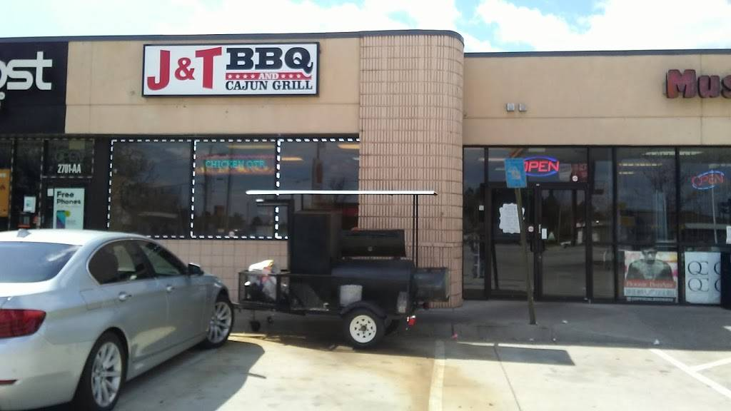 J & T BBQ and CAJUN GRILL | restaurant | 2701 Candler Rd suite b, Decatur, GA 30034, USA | 6789279239 OR +1 678-927-9239