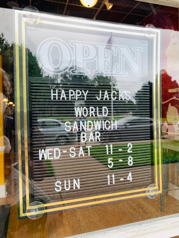 Happy Jacks World Sandwich Bar   restaurant   112 S Main St, Berea, KY 40403, USA