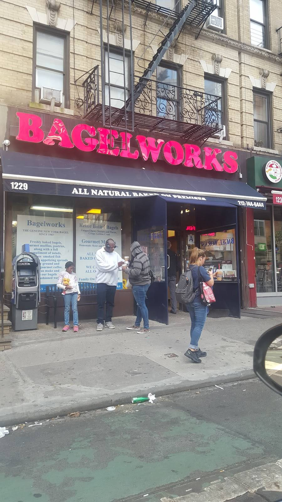 Bagelworks | bakery | 1229 1st Avenue, New York, NY 10065, USA | 2127446444 OR +1 212-744-6444