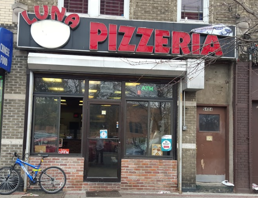 Luna Pizzeria | meal delivery | 5404 Park Ave, West New York, NJ 07093, USA | 2018640230 OR +1 201-864-0230
