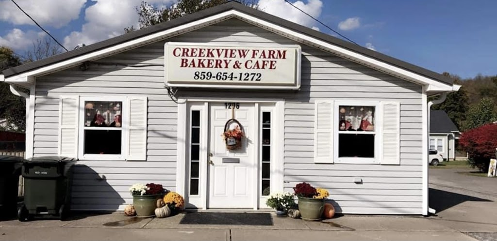 CreekView Farm bakery cafe and diner | bakery | 1206 W Shelby St, Falmouth, KY 41040, USA | 8596541272 OR +1 859-654-1272