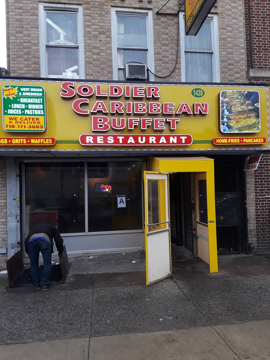 Soldiers Caribbean Buffet | restaurant | 3910, 1439, St Johns Pl, Brooklyn, NY 11213, USA | 7187713663 OR +1 718-771-3663