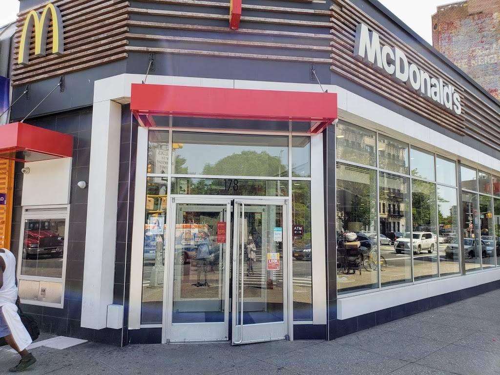 McDonalds   cafe   180 Parkside Ave, Brooklyn, NY 11226, USA   7182822289 OR +1 718-282-2289