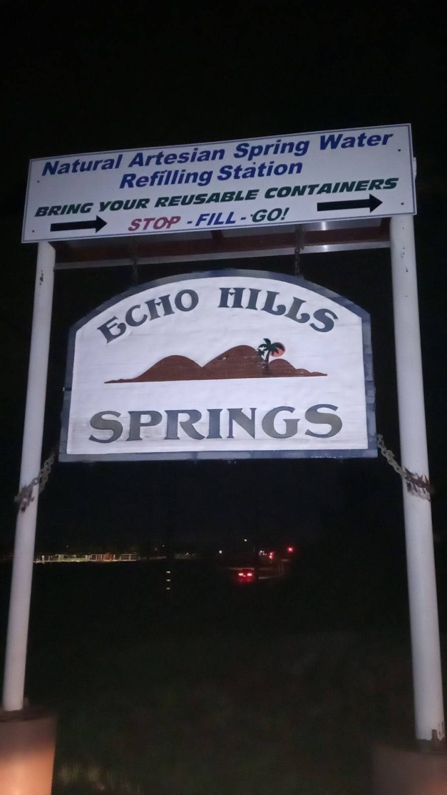 Echo Hills Natural Spring Water | restaurant | 1690 S State St, Hemet, CA 92543, USA