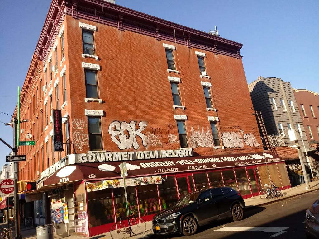 Gourmet Deli Delight | meal takeaway | 101 Nassau Ave, Brooklyn, NY 11222, USA | 7183498888 OR +1 718-349-8888