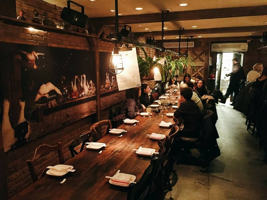 Decoy | restaurant | downstairs, 529-1/2 Hudson St, New York, NY 10014, USA | 2126919700 OR +1 212-691-9700