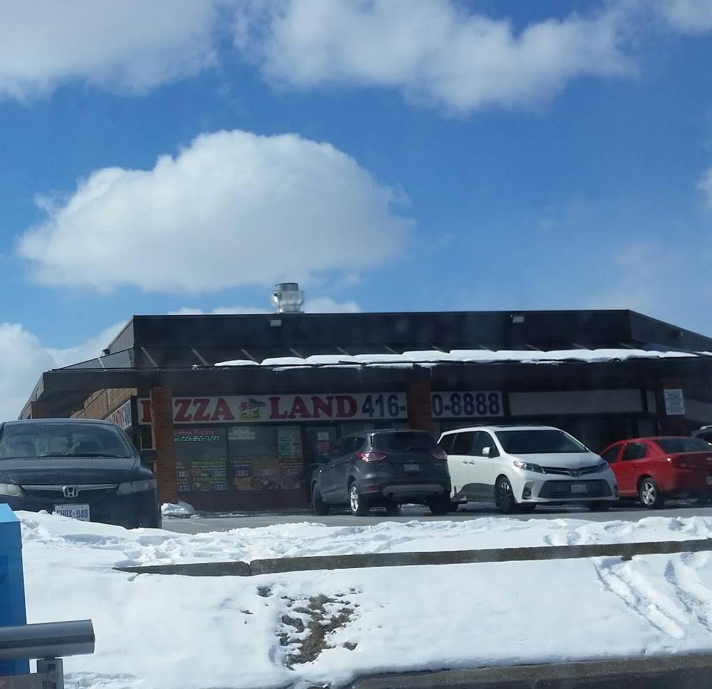 Pizza Land | restaurant | 2700 Kipling Ave, Etobicoke, ON M9V 4P2, Canada | 4167408888 OR +1 416-740-8888
