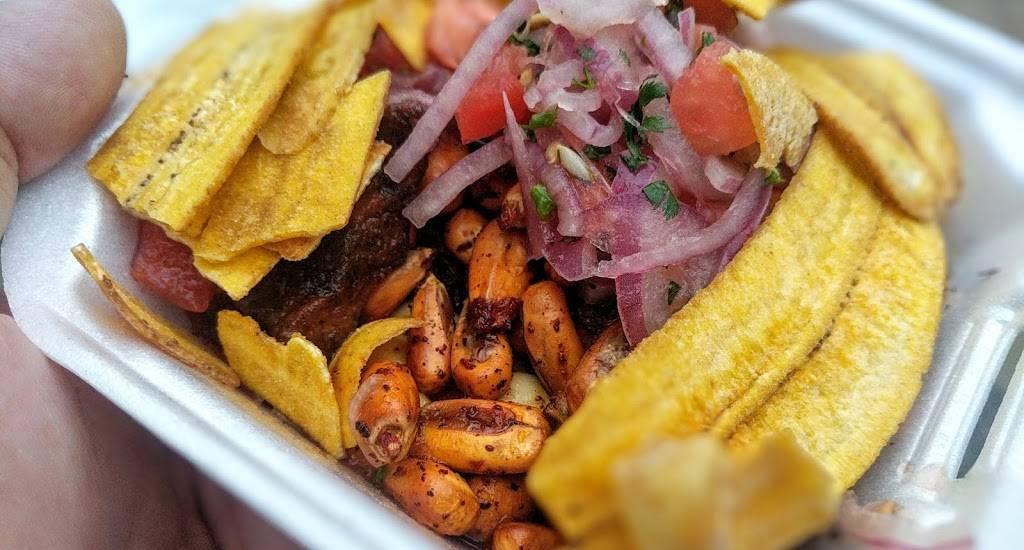 Salchipapas y Ceviche de Chochos El Mijin | restaurant | 105th Street & 37th Avenue, Corona, NY 11368, USA | 3474375530 OR +1 347-437-5530
