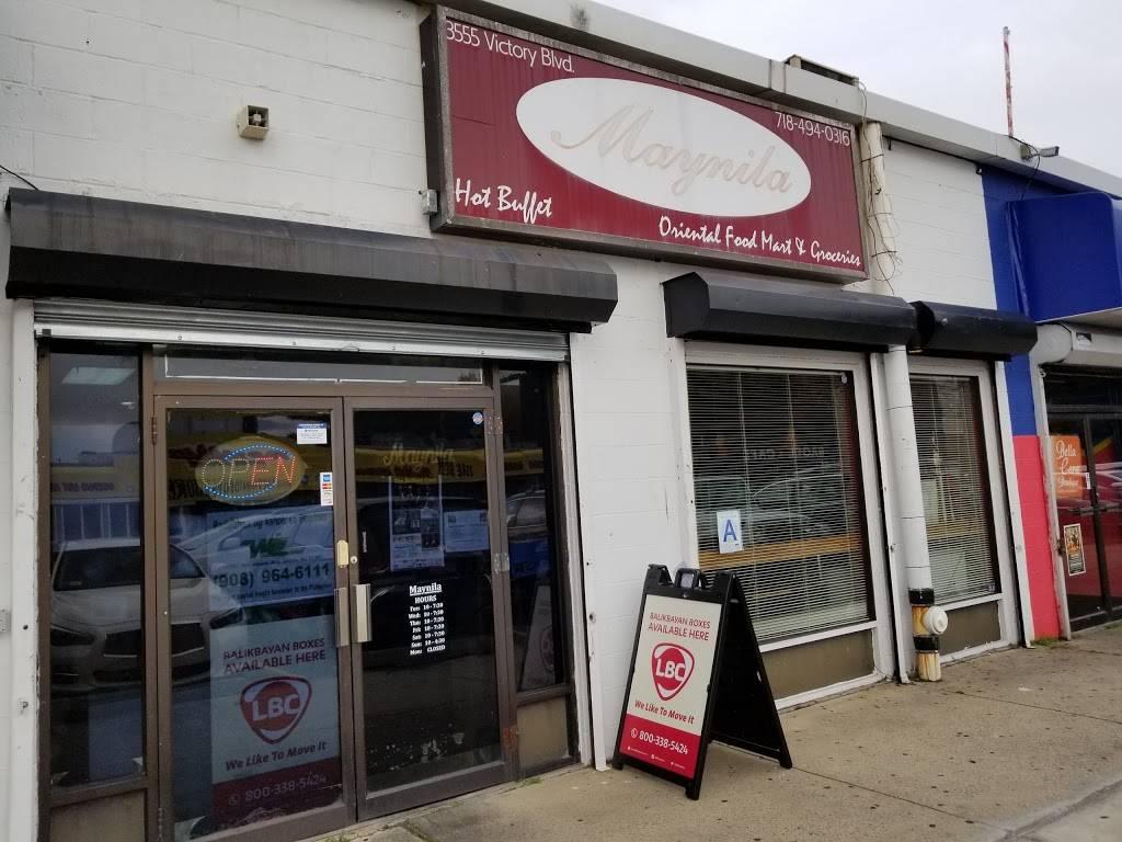 Maynila Restaurant 3555 Victory Blvd Staten Island Ny 10314 Usa