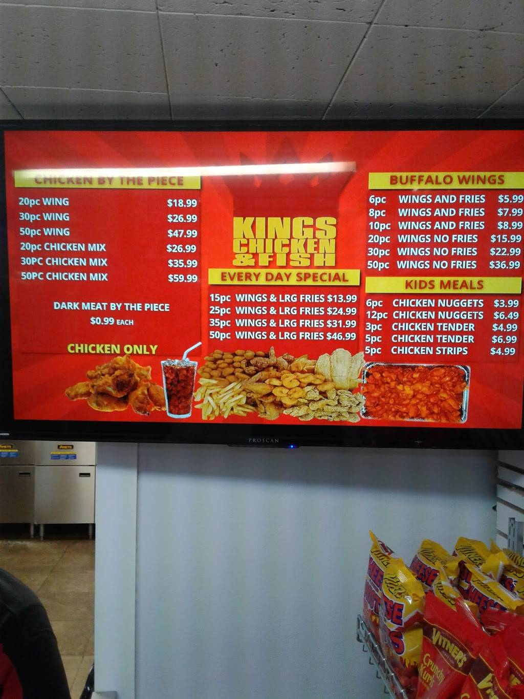 Kings Chicken &FISH | restaurant | 304 South Western Avenue, Peoria, IL 61605, USA