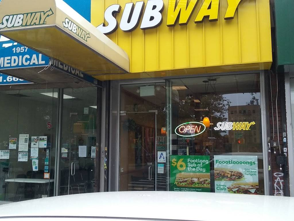 Subway Restaurants | restaurant | 1957 Westchester Ave, Bronx, NY 10462, USA | 3476571019 OR +1 347-657-1019