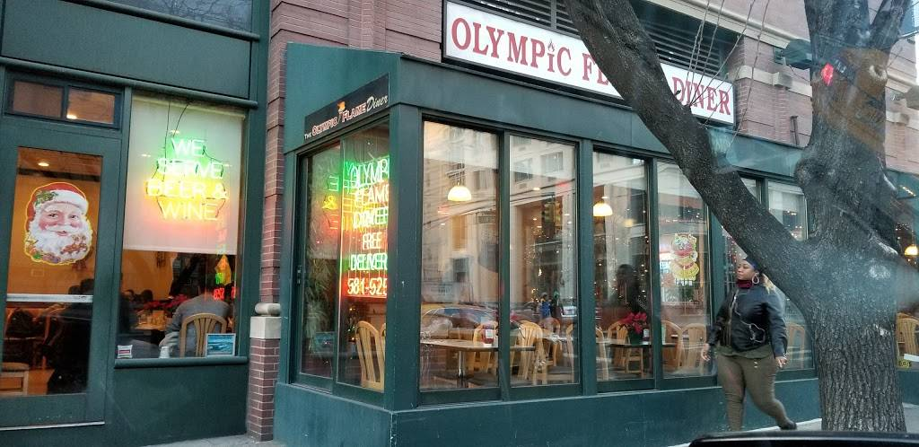 Olympic Flame Diner | meal takeaway | 200 W 60th St, New York, NY 10023, USA | 2125815259 OR +1 212-581-5259