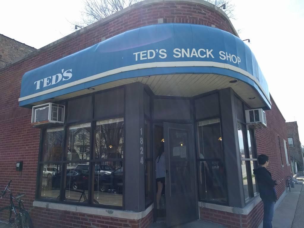 Teds Snack Shop   restaurant   1824 Crain St, Evanston, IL 60202, USA   8473321900 OR +1 847-332-1900