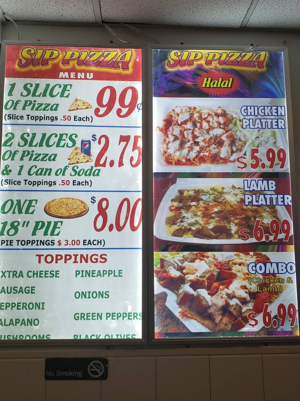 Sip Pizza | restaurant | 60 Sip Ave, Jersey City, NJ 07306, USA | 2014204800 OR +1 201-420-4800