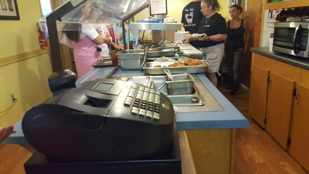 T & L Diner | restaurant | 501 S Main St, Jonesville, SC 29353, USA | 8646746392 OR +1 864-674-6392