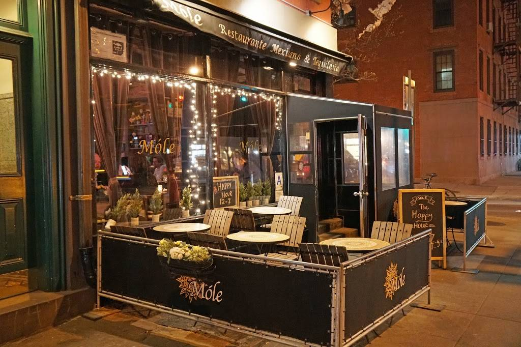Móle | restaurant | 5131, 57 Jane St, New York, NY 10014, USA | 2122067559 OR +1 212-206-7559