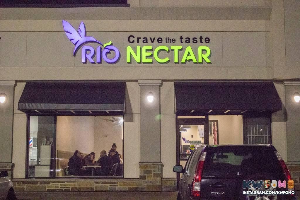 Rio Nectar | restaurant | 350 Hespeler Rd, Cambridge, ON N1R 7N7, Canada | 5192674547 OR +1 519-267-4547