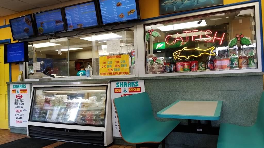 Sharks Fish & Chicken | restaurant | 5831 Calumet Ave, Hammond, IN 46320, USA | 2198520700 OR +1 219-852-0700