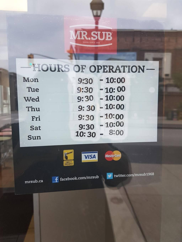 Mr.Sub | restaurant | 69 Main St, Cambridge, ON N1R 1V6, Canada | 5196220430 OR +1 519-622-0430