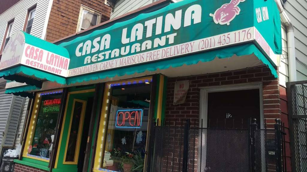 Casa Latina | restaurant | 112 Ocean Ave, Jersey City, NJ 07305, USA | 2014351176 OR +1 201-435-1176
