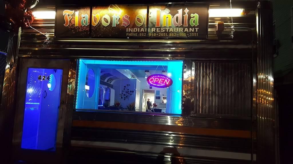 Flavors of India | restaurant | 424 Harrison Ave, Harrison, NJ 07029, USA | 8628492651 OR +1 862-849-2651