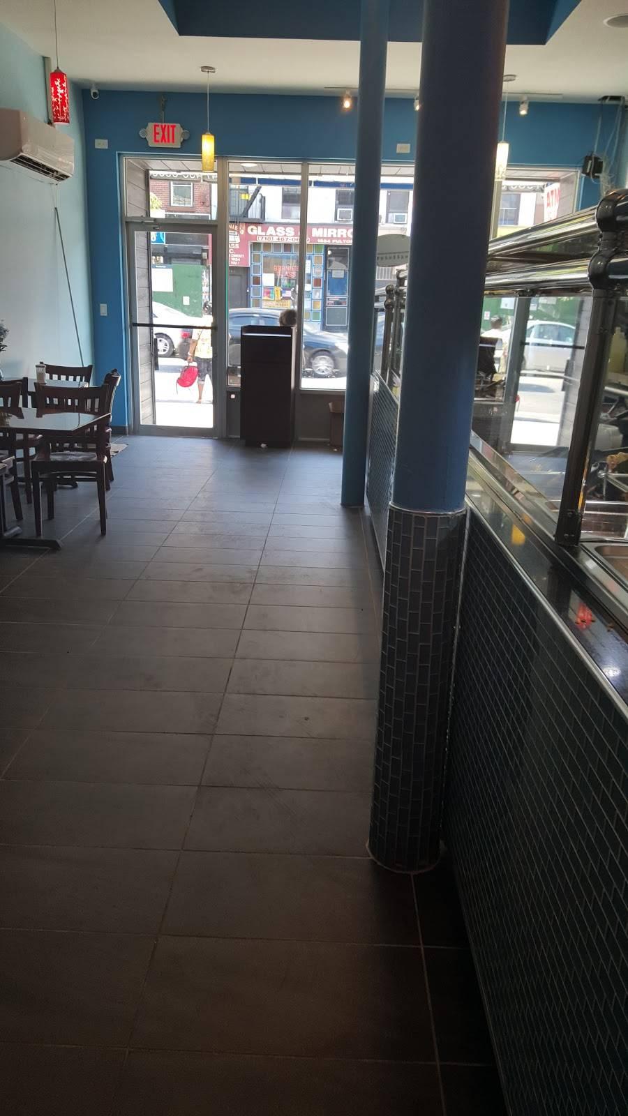 Blue Cafe   restaurant   1563 Fulton St, Brooklyn, NY 11216, USA   3474066050 OR +1 347-406-6050