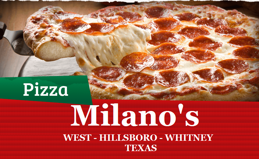 Milanos Pizza Whitney TX | meal delivery | 1223 N Brazos St, Whitney, TX 76692, USA | 2546941029 OR +1 254-694-1029