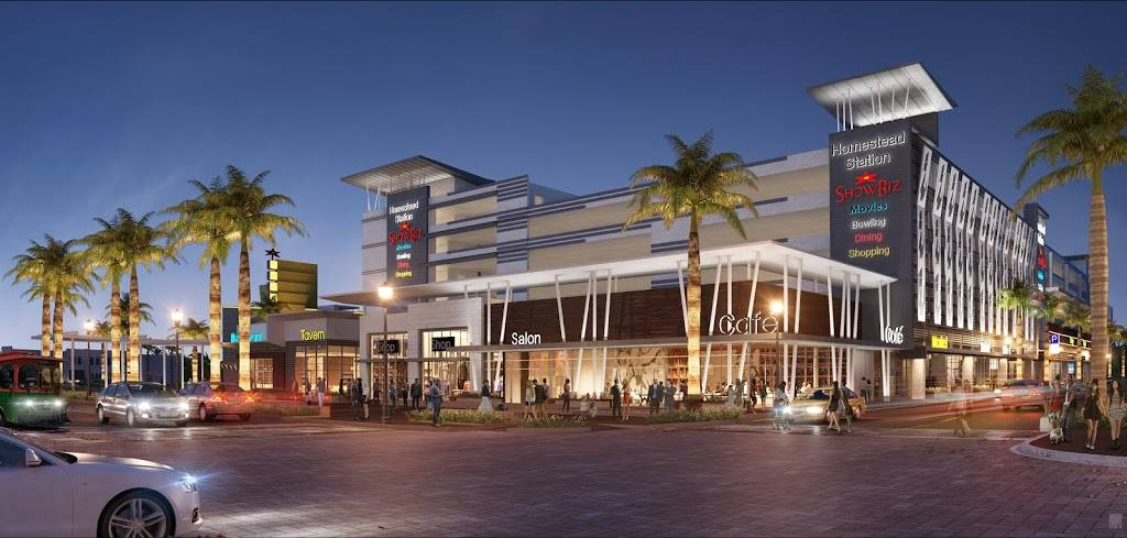 Homestead Station | shopping mall | 4 S Krome Ave, Homestead, FL 33030, USA