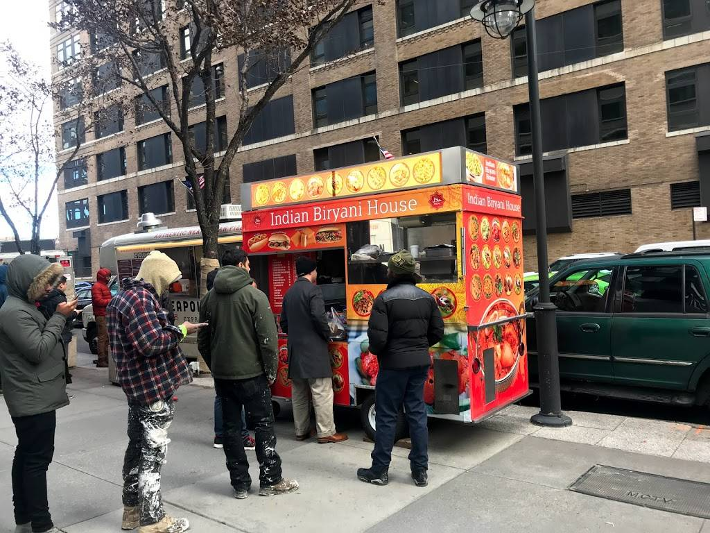 Halal Indian Biryani house(cart) | restaurant | 10014 (corner of hudson st & king st, 367 Hudson St, New York, NY 10014, USA