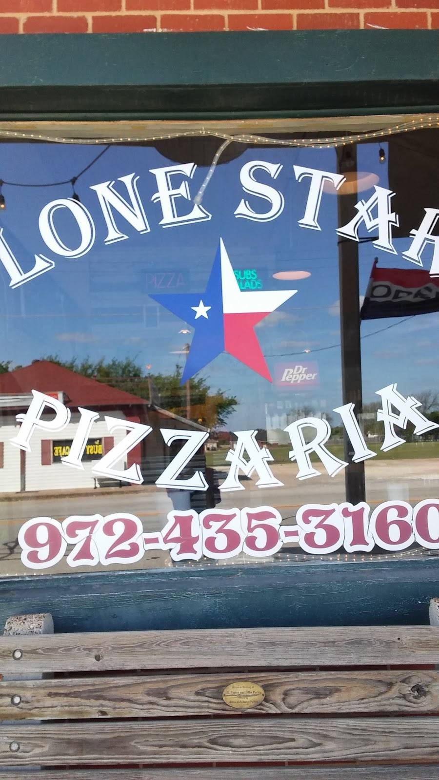 Lone Star Pizzeria Restaurant 302 S Main St Maypearl