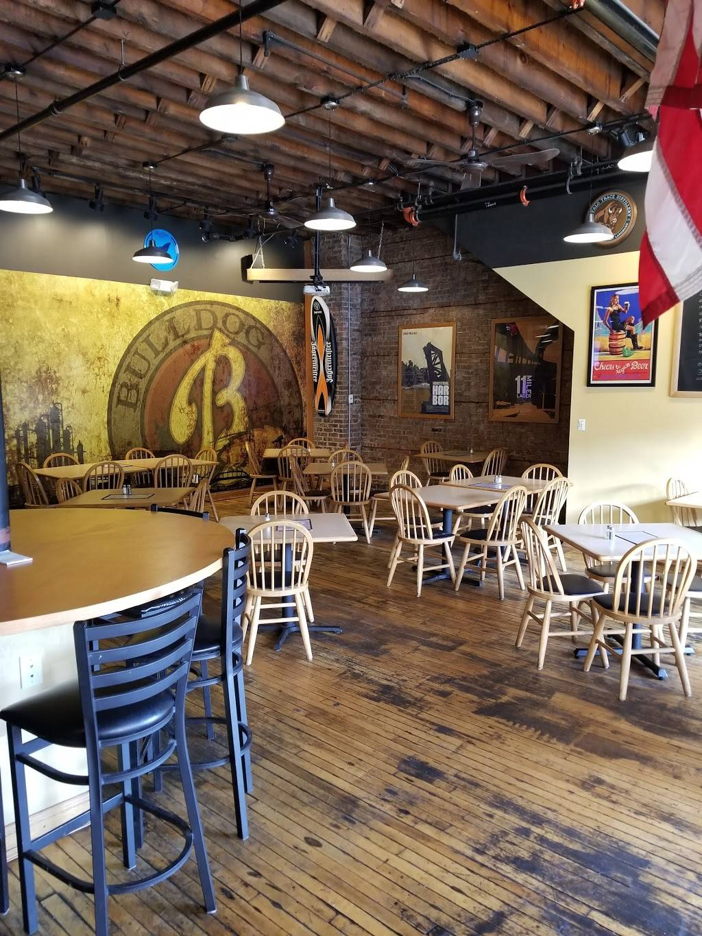 Bulldog Brewing Company | restaurant | 1409 119th St, Whiting, IN 46394, USA | 2196555284 OR +1 219-655-5284
