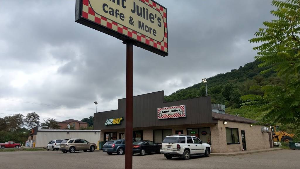 Aunt Julies Cafe and More | cafe | 1220 Washington Street, Newell, WV 26050, USA | 3043875009 OR +1 304-387-5009