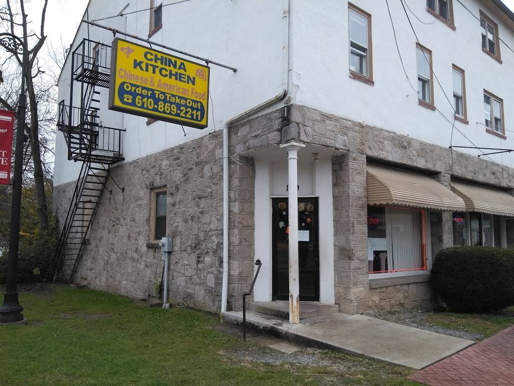 China Kitchen Restaurant 119 Rosehill Ave West Grove Pa 19390 Usa
