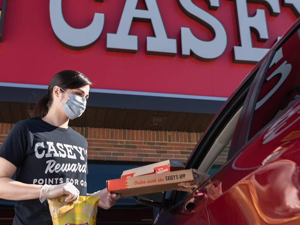 Caseys   meal takeaway   1300 W Sumner St, Hartford, WI 53027, USA   2626708870 OR +1 262-670-8870
