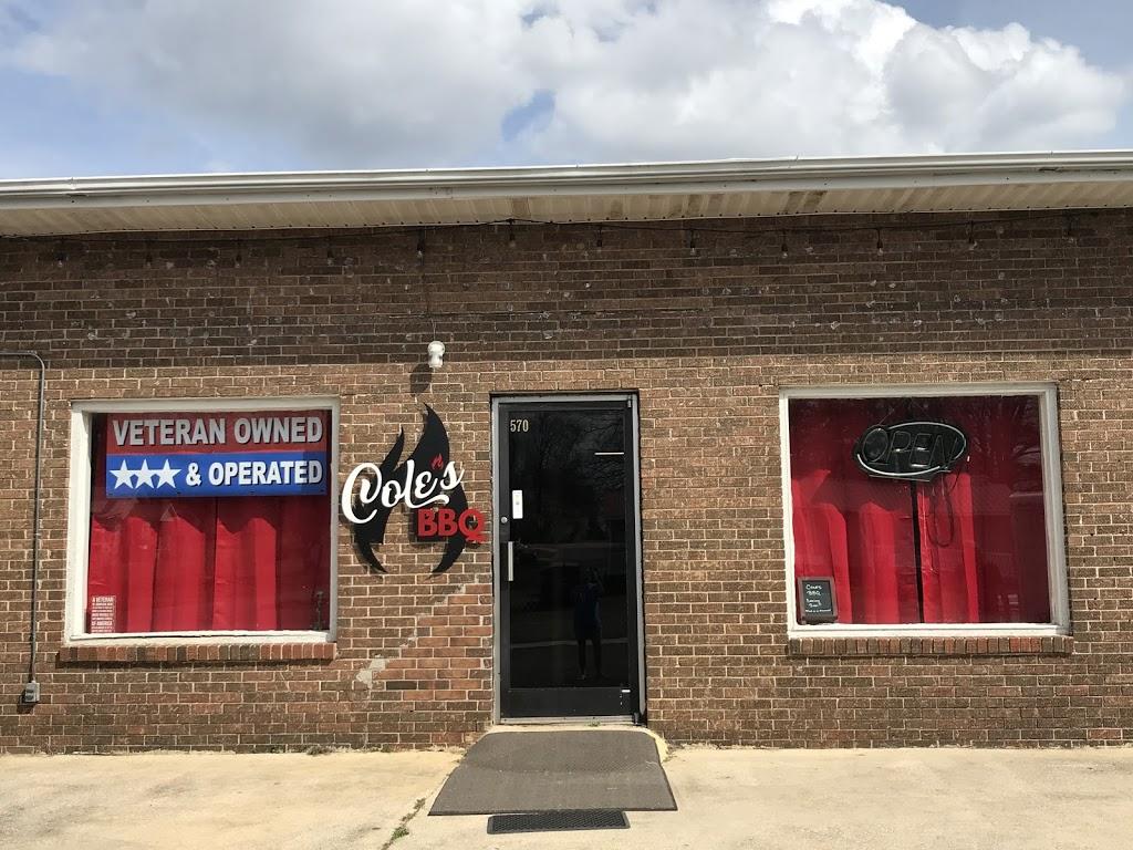 Coles BBQ | restaurant | 570 State St, Sumiton, AL 35148, USA | 2052556490 OR +1 205-255-6490