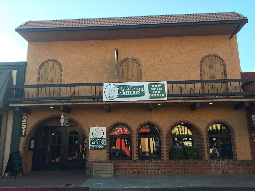 California Kitchen Restaurant 251 Main St Placerville Ca 95667 Usa