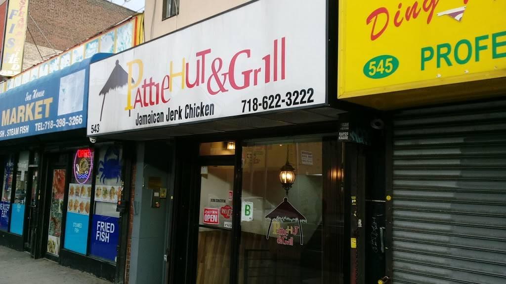 Pattie Hut & Grill | restaurant | 543 Nostrand Ave, Brooklyn, NY 11216, USA | 7186223222 OR +1 718-622-3222