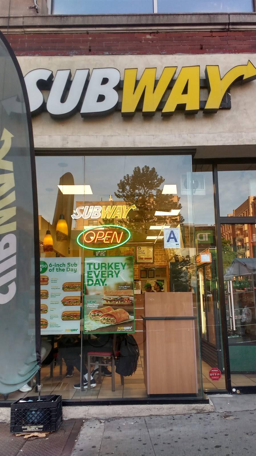 Subway Restaurants | restaurant | 3795 Broadway, New York, NY 10032, USA