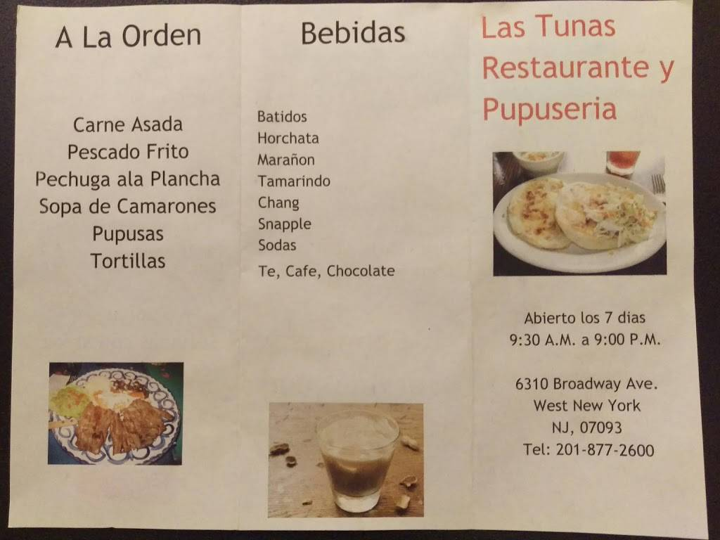 Las Tunas Restaurante | restaurant | 6310 Broadway, West New York, NJ 07093, USA | 2018772600 OR +1 201-877-2600