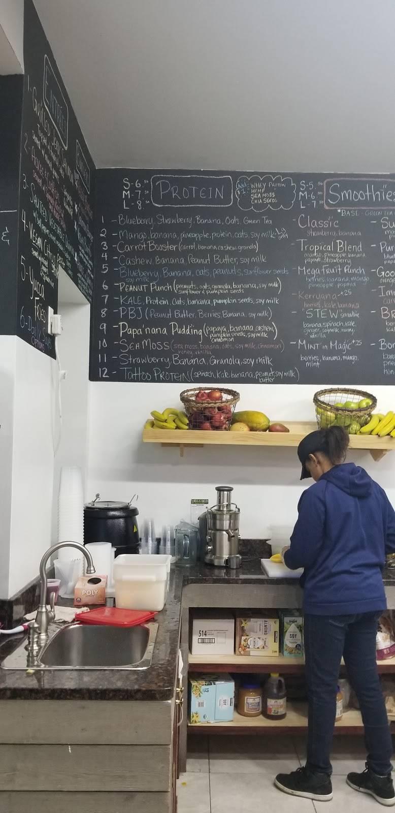 Veggies Natural juice bar and cafe | restaurant | 1209 Nostrand Ave, Brooklyn, NY 11225, USA